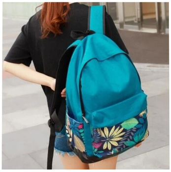 Yiwu factory wholesale college style cheap School backpack
