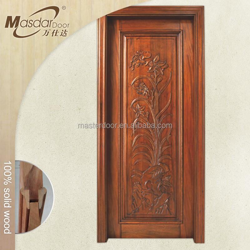 Flash door china factory latest wooden flash doors design for Modern wooden door design