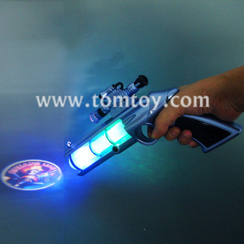LED Space Projector Gun Toys With Sound