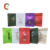 little MOQ 8 sides sealing flat bottom food packing plastic bag with zipper and sides window