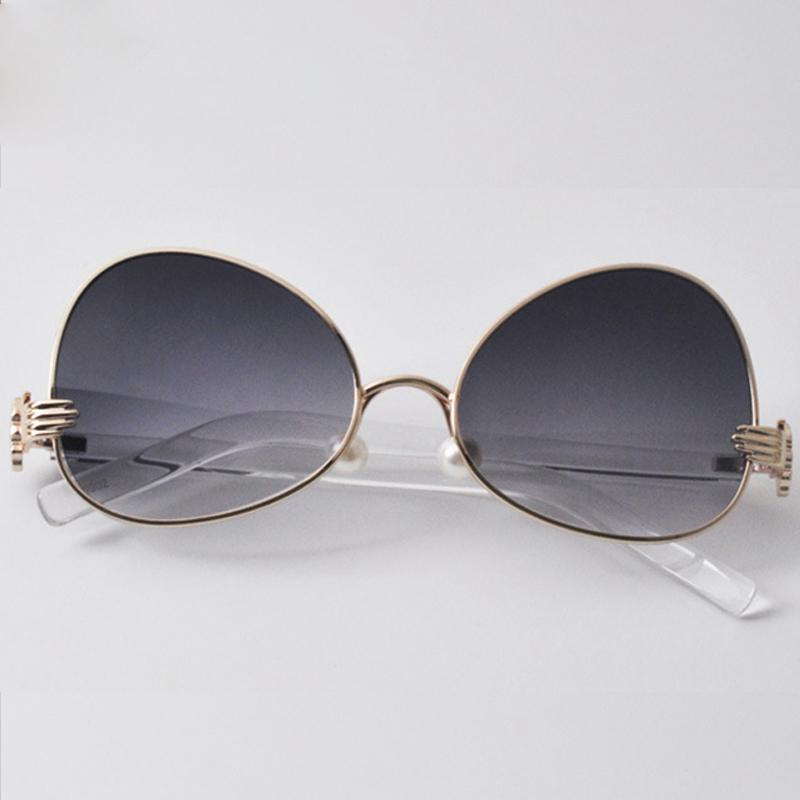 267dd4491 Moda Infantil Óculos De Sol Da Marca Designer de Pérola Almofadas Nariz Do  Bebê Meninos Meninas