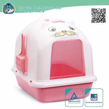 Dome covered new premium Cat Litter Box with Scoop and Sifter
