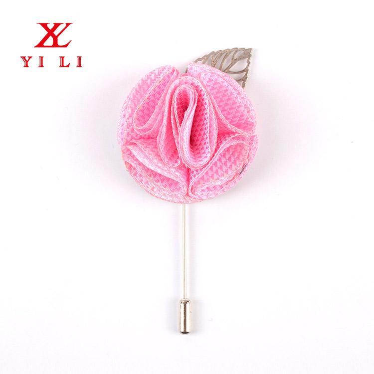 卸売中国工場人気のカスタムブローチ花のラペルピン