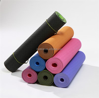 Cheap TPE yoga mat material rolls for gymnastics camping from wholesale factory