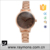 Cheap Price Classic Watch Wholesale 5 Color Face Alloy Strap Lady Watch