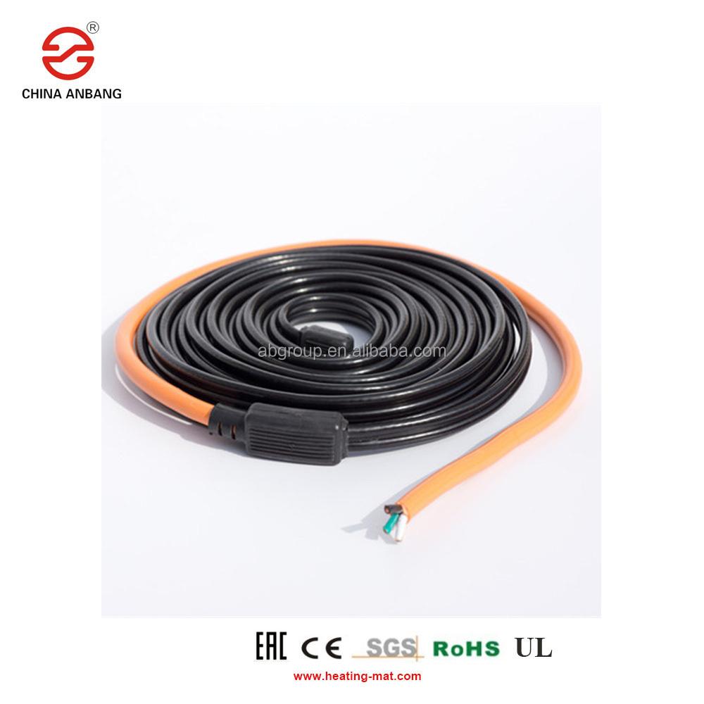 Selbst Regulierung Dach Enteisung Heizung Kabel 10 M 220 V Typ Heizung Band Wasser Rohr Schutz