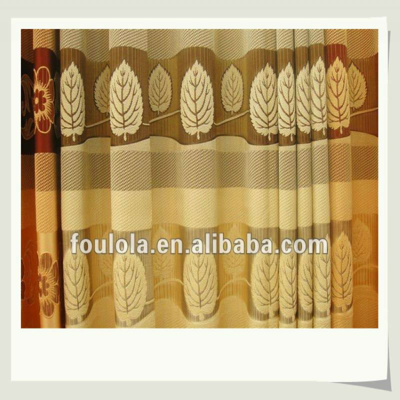 Design Living Room Curtains 2012 Fabric Material, 2.8m Width 170g/m2