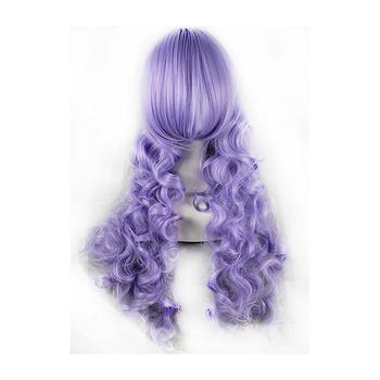 80cm Light Purple Cosplay Wigs 1b9adc8ad