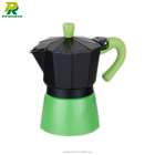 2015 Hot selling 3 Cup Aluminum moka espresso coffee maker,moka coffee maker,mini coffee maker