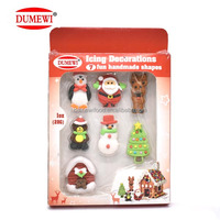 Bakery Decoration Icing Sugar Edible Christmas Cake Decorations