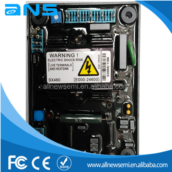 sx460 avr wiring diagram: automatique régulateur de tension avr sx460  générateur avr