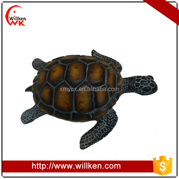 Funny resin tortoise statue home and hotel decoration