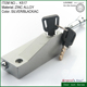 Newest popular door hardware floor mounted big sliding gate latch