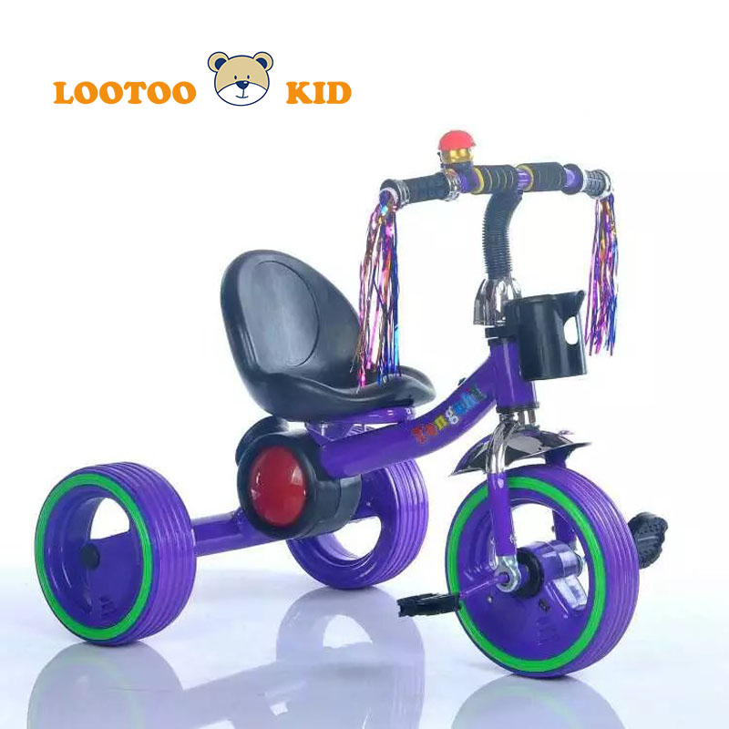 Alibaba china 3 wheel light toy kid riding tricycle / new models 2017 tricycle for children