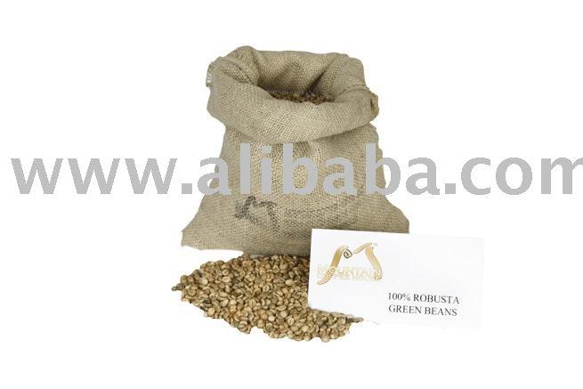 50% Arabica / 50% Robusta Blend Bulk Coffee Beans (5.0 Lbs)