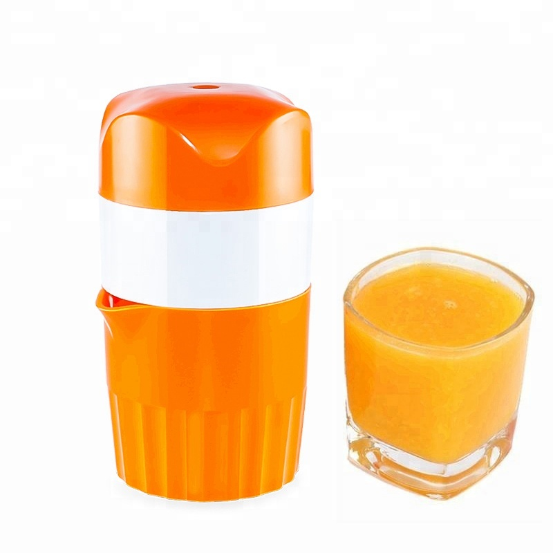 Amazon hot selling plastic no electricity manual cold press <strong>citrus</strong> orange <strong>juicer</strong>