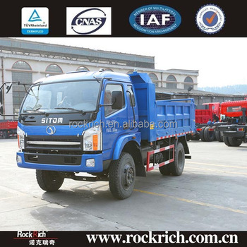 China manufacturer best 10 ton light 6-wheel tipper truck Truck