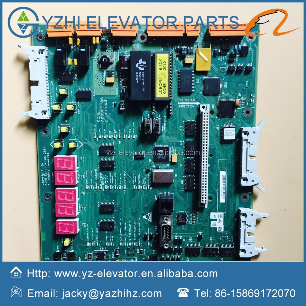 Kone Elevator Board Cpu40 Km773380g04 Lcecpu40 Original 100% Original Chargers Back To Search Resultsconsumer Electronics