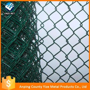 Multifunctional green 3 rails post and rail pvc farm fence with low price