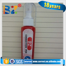 Chinese supply white out red correction pen