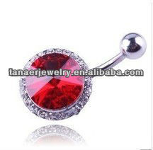 new deign belly bars body piercing jewelry
