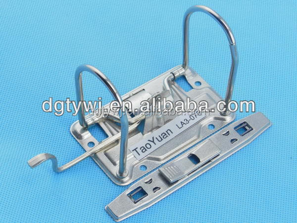 metal lever arch file clip&3 inch a4 lever arch mechanism
