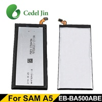 Shenzhen china mobile phone battery factory for Samsung Galaxy A5 A5000 A500F A500FU A500G A500H A500K A500L A500M A500S