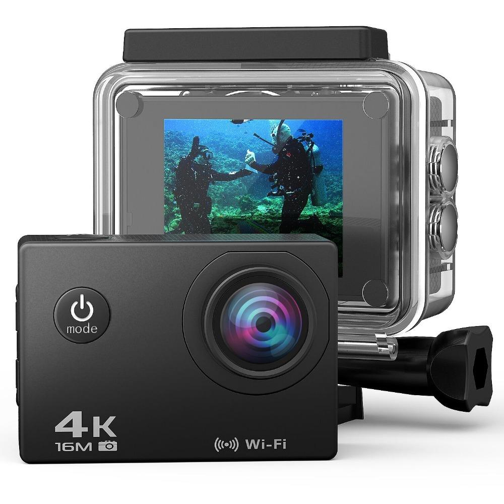 2019 Ausek Private 4k@30fps wifi xdv action cam ultra hd full 1080P 60FPS waterproof helmet camera