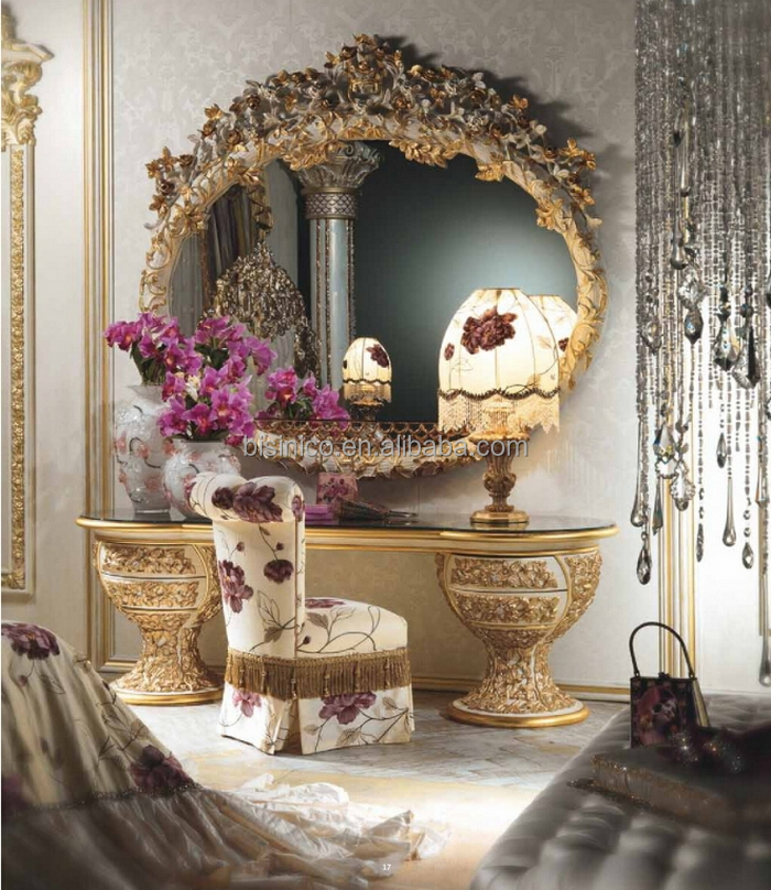 Merveilleux Gorgeous Luxury Design French Marquetry Bedroom Furniture,Neo Classic Italy  Style Wooden And Brass Dressing Table/dresser   Buy French Marquetry  Dressing ...