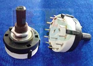 HOT SALE!!! BARGAIN PRICE!!! 1p One Pole 12 Position PANEL Mount ROTARY SWITCH 1P12T S in Business