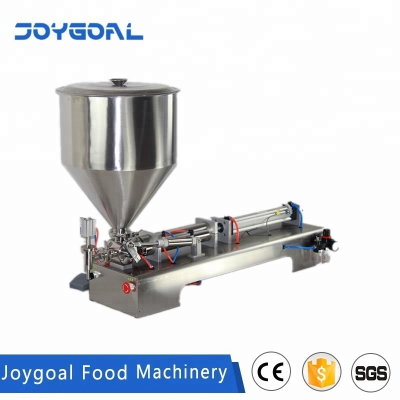 Joygoal -factory wholesale tomato paste automatic bottle filling machine/jars filling machine/cosmetic cream filler