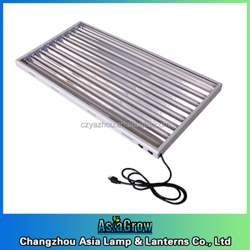 T5 Grow Light Fixtures With Grow Light Reflector / T5 Ho Fluorescent ...