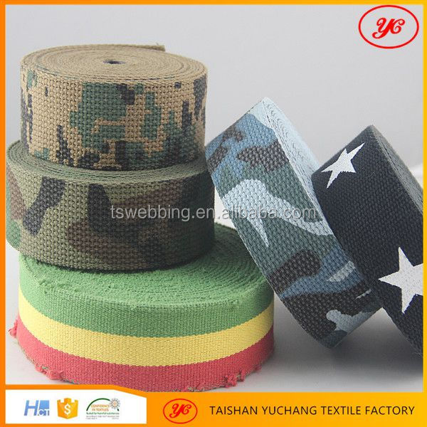 High Strength Custom Color PP Polyester Webbing Strap For Bags