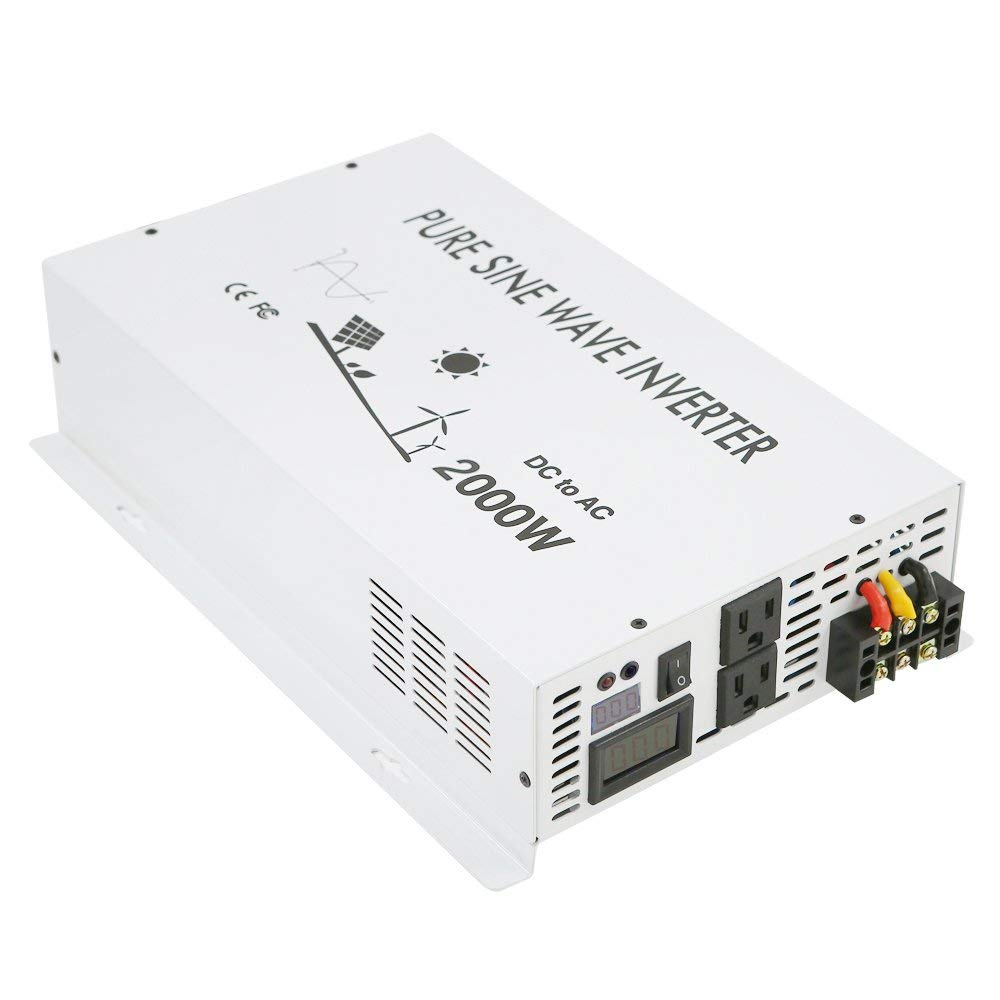High Power Inverter Circuit Cheap Led Find Deals On Line Get Quotations Wzrelb 2000w Rated 4000w Peak True Pure Sine Wave 12v 120v Dc To Ac Converter