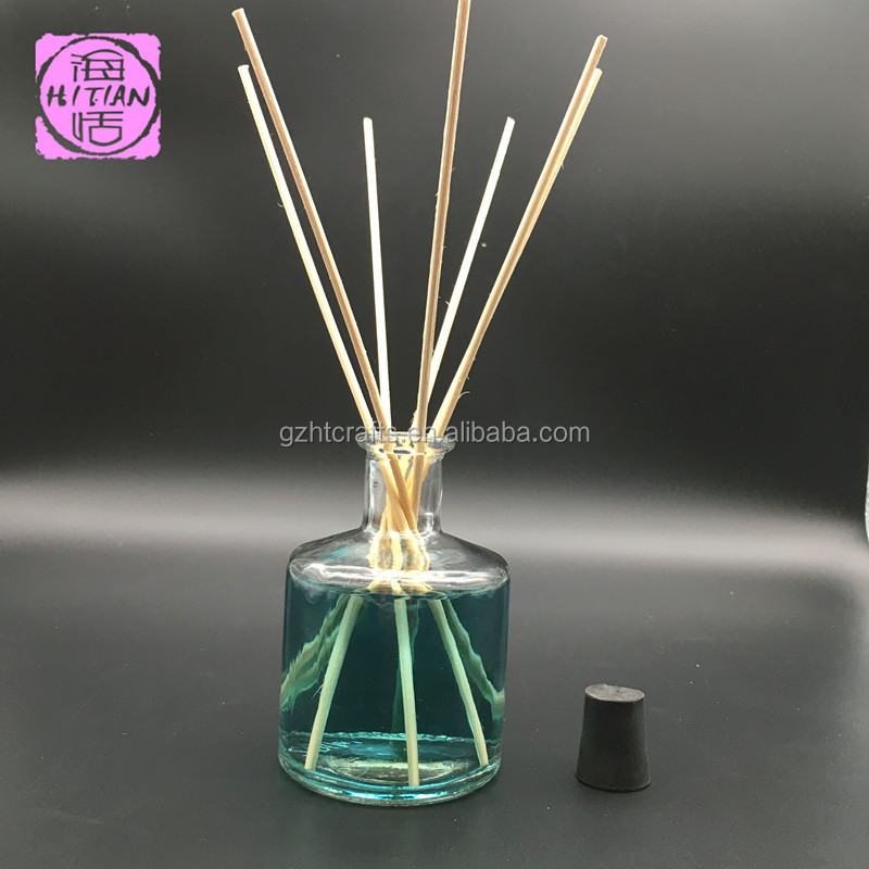 200ML aroma scent reed diffuser with natural rattan sticks for air freshener