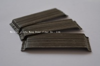 2015 Construction new material, glued high tensile strength 1100-2850 steel fiber for highway airport pavement