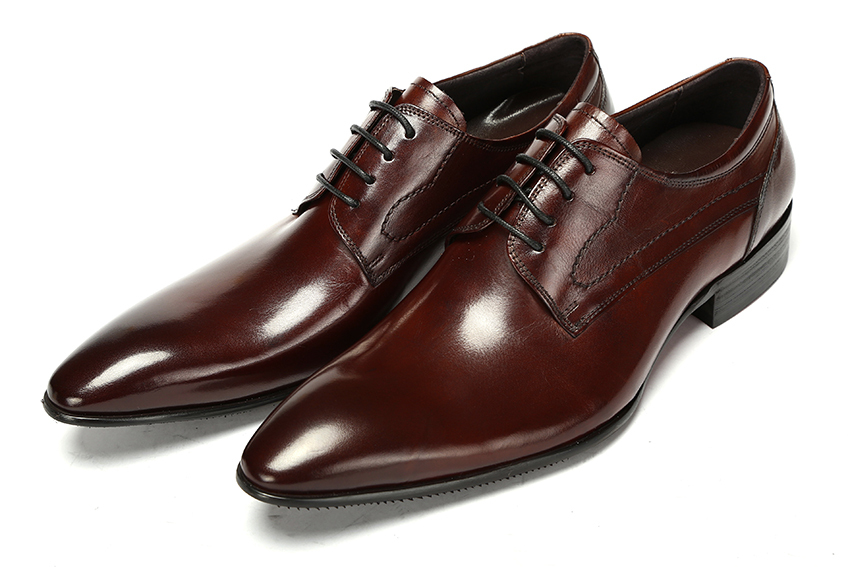 2015 Italian fashion party style genuine leather men dress shoes 2 color  men wedding shoes men's shoes oxfords size:6-10 ox351