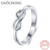 Fashion 925 Sterling Silver Infinity Ring For Women