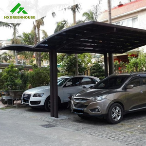 China new modle homely aluminum portable prefab car parking shelter HX115