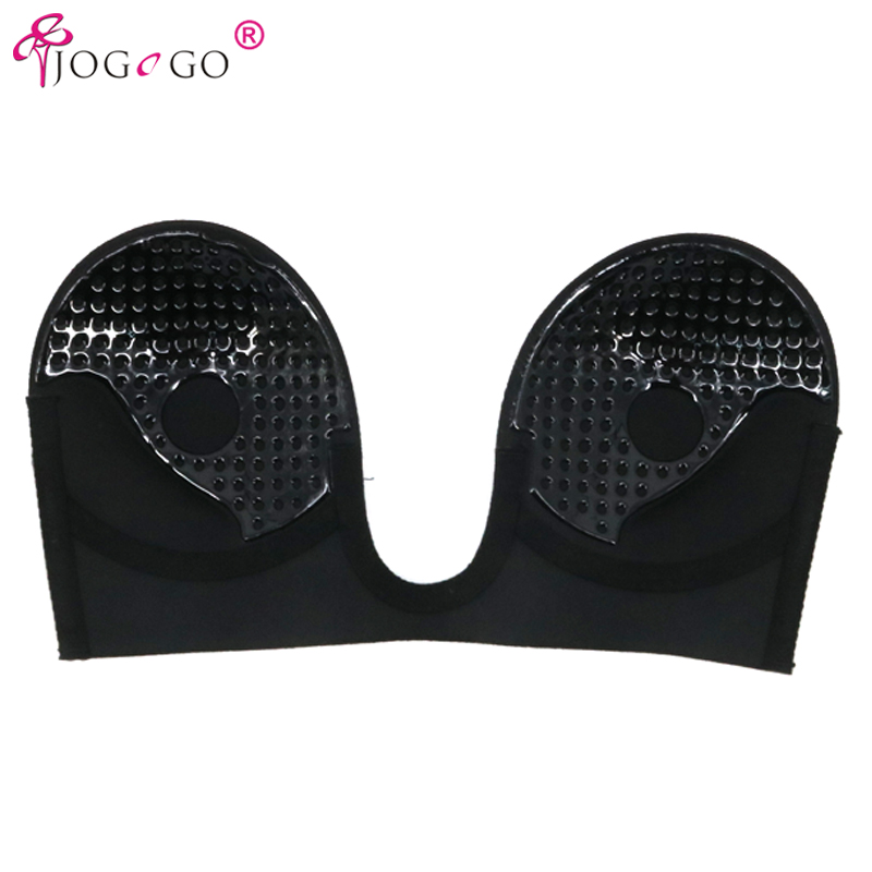 3be098ccfe464 Perfection Secret Sexy V bra Deep U Plunge Backless Strapless Self Stick  Adhesive Bra