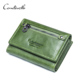 CONTACT'S Brand Names Women Wallet Hot Fashion grain Leather Purse Front Pocket Wallet