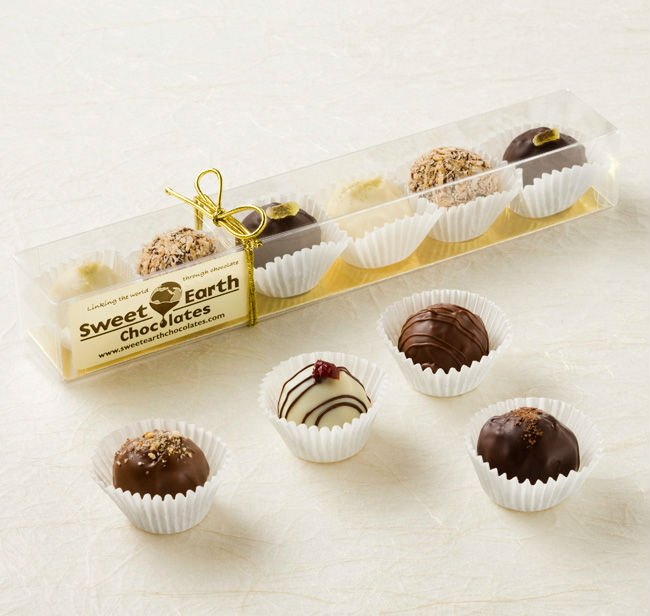 Chocolate Wedding Favors Truffles 6 Piece Box 12 95 Product On Alibaba
