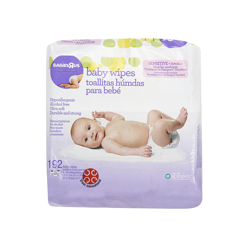 Hand and Mouth Clean Wet Wipes Baby Care Plastic Wet Wipe Lid