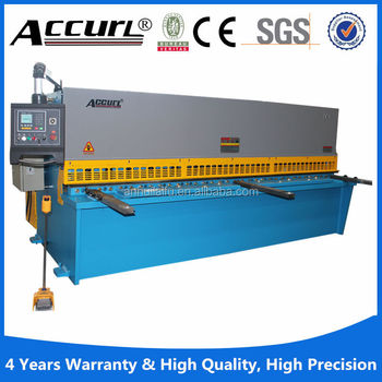 2015 New Products Hydraulic Iron Cutting Shear Machine For
