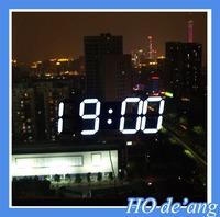 Creative Remote Control Large LED Digital Wall Clock Modern Design Home Decor 3d Decoration Big Decorative Watch