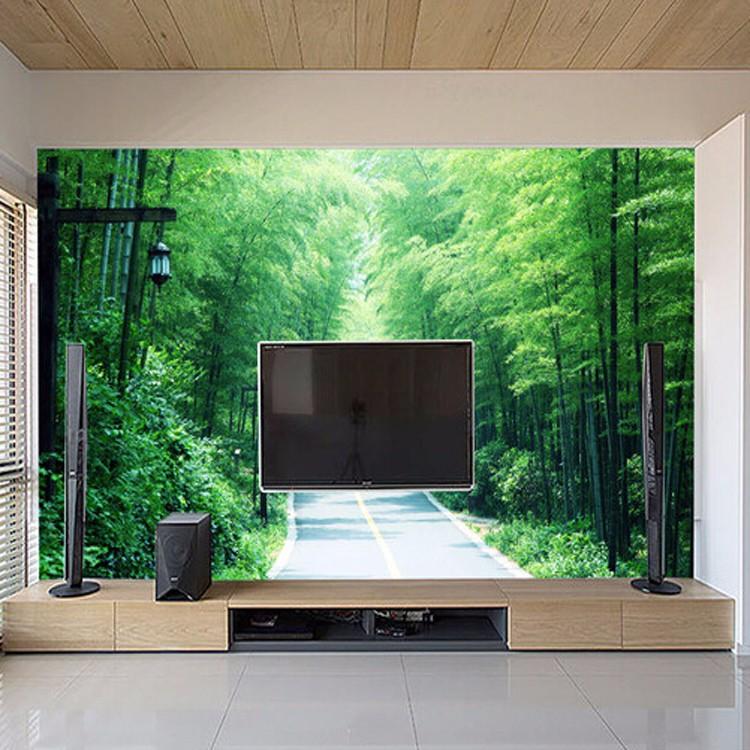 3d Tapeten home hotel wand dekoration 3d tapeten für heimtextilien bambus