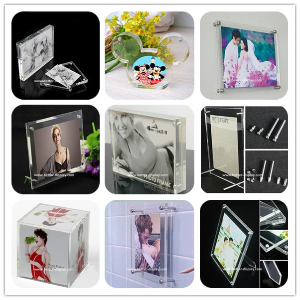 Acrylic Collage Photo Frames for Family