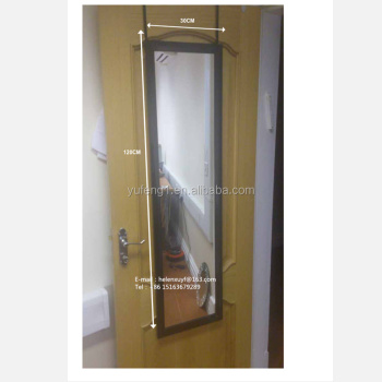 Charmant Wholesales 30x120cm Black Plastic Framed Bedroom Behind Door Mirror