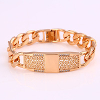 72471 Xuping online gold jewellery designs photo personalized watch bracelet for women and men