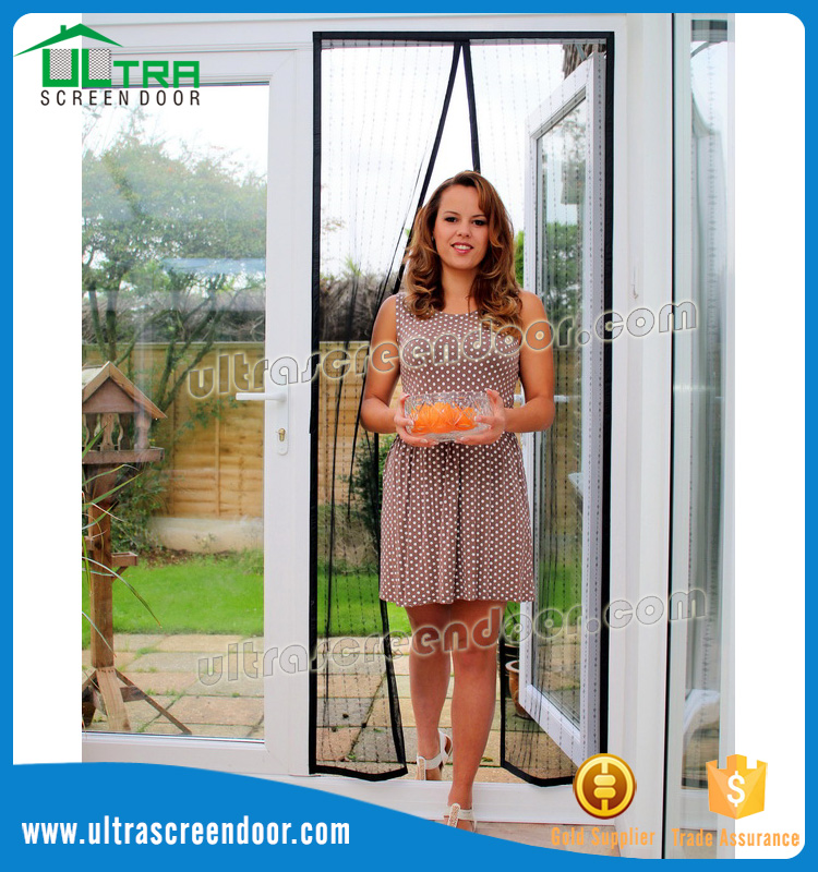 Polyester Mesh Mosquito Net Magnetic Screen Door
